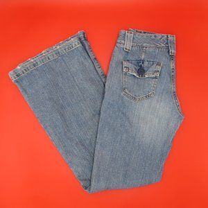 Low Rise Flared Junior's Jeans by Hydraulic